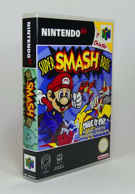 Nintendo 64 N64 - Game Case - Super Smash Bros (PAL AU)
