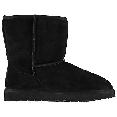 Kids Girls SoulCal Selby Snug Junior Boots Faux Fur Warm New