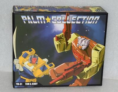 New Transformers Unique Toys UT YM-01 Palm Tom Jerry Headmasters Figure In Stock
