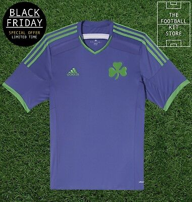 Panathinaikos FC Away Shirt - Official Adidas Football Shirt - Black Friday Sale