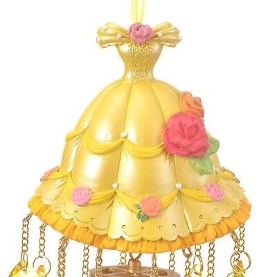 Belle Beauty and the Beast Wind chime Princess Party DISNEY STORE JAPAN NEW F/S