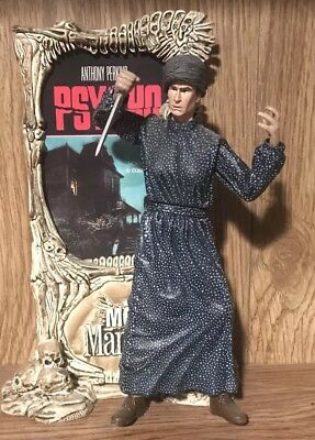 MOVIE MANIACS McFarlane Toys PSYCHO NORMAN BATES Action Figure & Display Poster