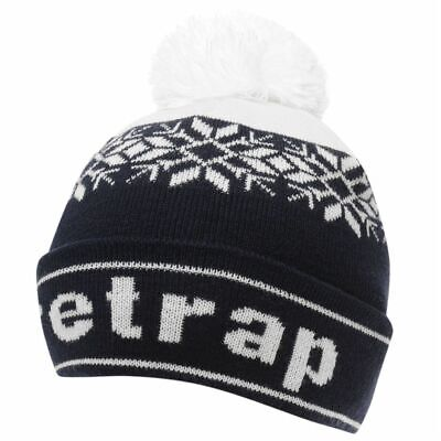 Kids Firetrap Snow Beanie Juniors Bobble Hat Pattern New