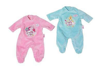 Zapf Creation Baby Born Fruity Cutie Doll Clothes Romper Outfit - Pink / Blue
