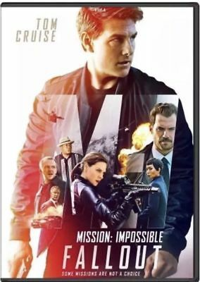 Mission Impossible Fallout (Dvd 2018) Usa Seller Direct Ship