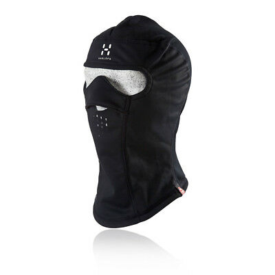 Haglofs Windstopper Mens Womens Black Water Resistant Running Balaclava New