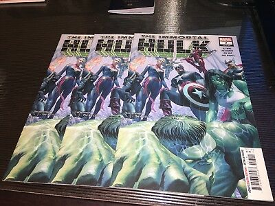 THE IMMORTAL HULK  #7 FIRST PRINT 🔥🔥 ERROR Print! 🔥🔥 Cap's color's are RED!!