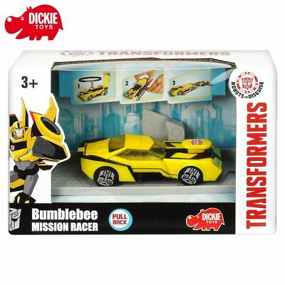 Transformers Spielzeug Robots Disguise Bumblebee Renn-Auto Dickie Mission Racer