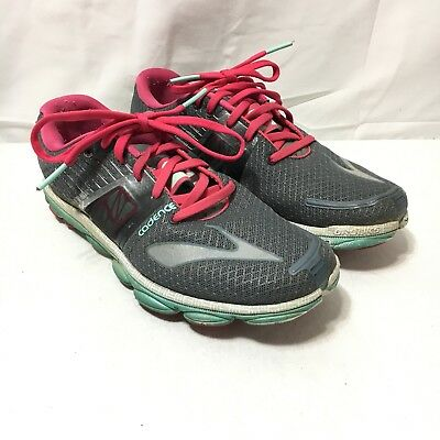 db8e34a4b6a Brooks Pure Cadence 4 Womens 9 B Gray Pink Lightweight Lace Up Running Shoes