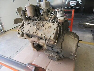 FORD FLATHEAD TRUCK Engine 8Eq 337 Cubic Inch 1948-1951