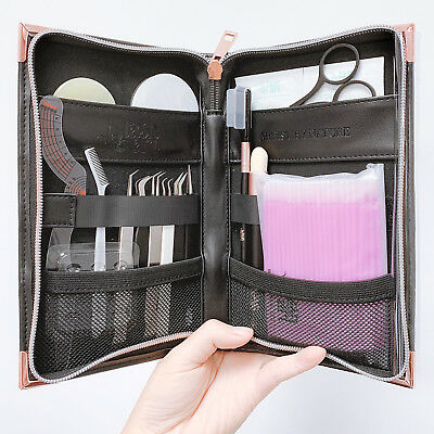 LashArt ALL IN ONE Storage Case Eyelash Extension Tweezers Scissors Jade Tools