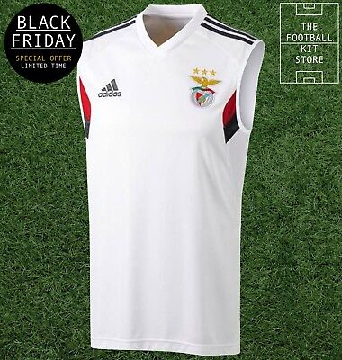 Benfica Sleeveless Training Shirt - adidas SLB Football Top - * BLACK FRIDAY *