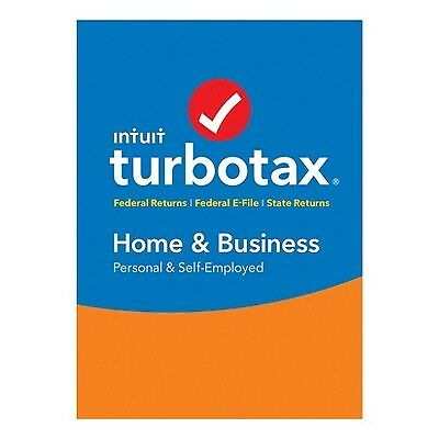 TurboTax Home & Business 2017 - PC Software