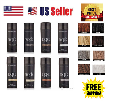 Toppik Hair Loss Building Fiber 27-5g FREE AND FAST SHIPPING IN USA!