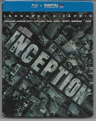 INCEPTION / Blu-Ray Steelbook Neuf sous blister - VF