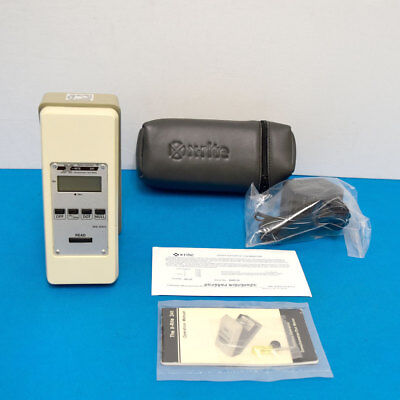 X-Rite 341 Battery Operated B/W Transmission Densitometer Excellent New