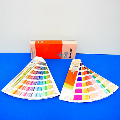 Pantone Plus Series Formula Guide Sold Coated & Sold Uncoated Set,