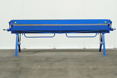 Sheet Metal Folder/ Bending Brake 3100mm/ 1.0mm Steel/ 1.5 Alu Capacity