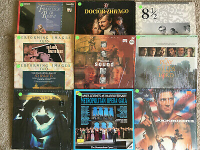 Lot estate Laser Disc movies rare buy 2 for buynow mixed choose. rare selection
