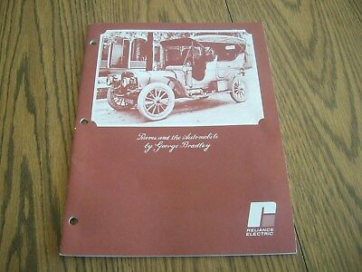 Reeves And The Automobile By George Bradley Relience Electric History Of The Car