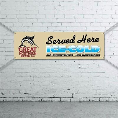 Great Northern Brewing Co. Banner -  Mancave Bar Beer Spirits Shed