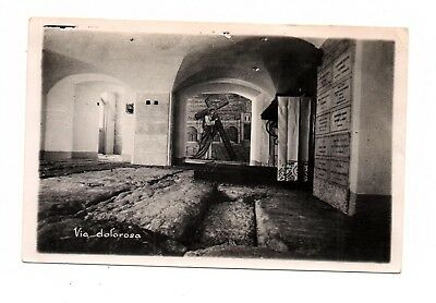 "Jordan Palestine Postally Used Post Card ""via Dolorosa"" - Cross Lot ( Jor 22)"