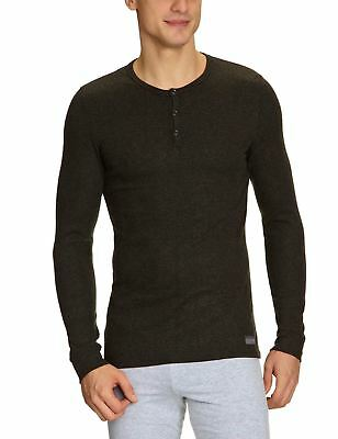 HOM Warm Cocooning Thermal Long Sleeved Grey Undershirt