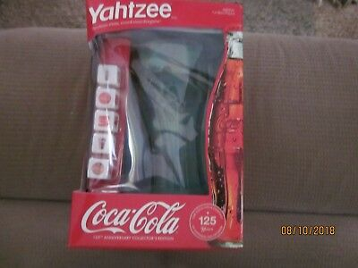 COCA COLA 125th ANNIVERSARY COLLECTOR'S EDITION YAHTZEE BRAND NEW Hasbro