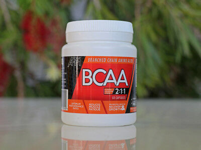 Vegan Branched Chain Amino Acids (BCAA) 500 mg caps 50 Capsules