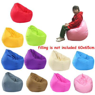 New Lounge Bean Bag Home Soft Lazy Sofa Cozy Single Chair Seat Durable Furniture