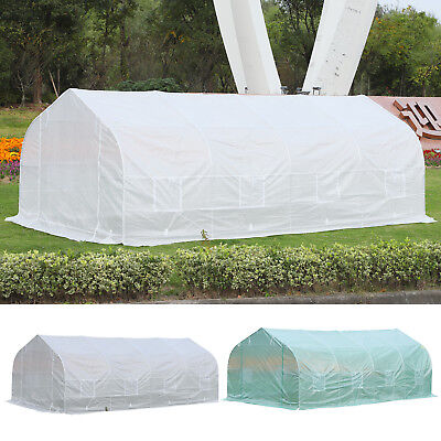 Outsunny 20x10x7ft Walk-in Outdoor Tunnel Greenhouse Portable Backyard Plant