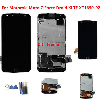 LCD für Motorola Moto Z Force Droid XLTE XT1650-02 Komplett  Display Touch Panel