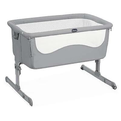 Culla Co-Sleeping Lettino Next2Me Next To Me Chicco Attacca Letto Grigia Pearl