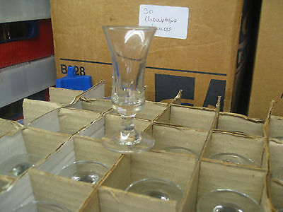 6 Elgin sherry Glasses.Wedding / Parties / Functions / Bar / Restaurant: