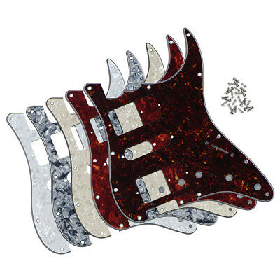 US HSH Electric Guitar Pickguard Scratch Plate for Strat Guitar 11 Holes  4Ply