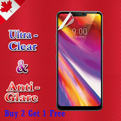 3D Full Coverage Tempered Glass Screen Protector Guard For LG G7 ThinQ