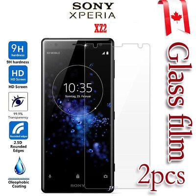2x Sony Xperia XZ2 Tempered Glass / Pet Screen Protector Film Guard