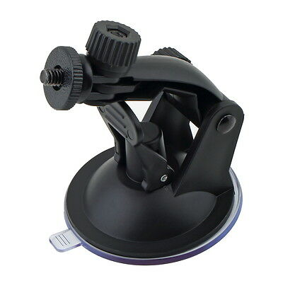 Car Suction Cup Mount Holder with Tripod Adapter for Gopro Hero 3 2 1 Camera MB