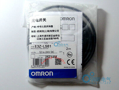 1PC New IN BOX Omron PLC PhotoElectric Switch E3Z-LS81 12-24VDC