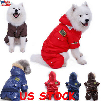 Pet Dog Cat Puppy Sweater Hoodie Coat Pet Dog Winter Warm Costume Apparel XS-XL