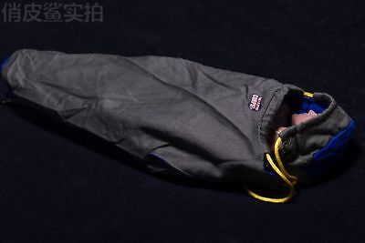 2PCS 1//6 Scale bag for carrying out the package a sleeping bag f 12 Inch Figure