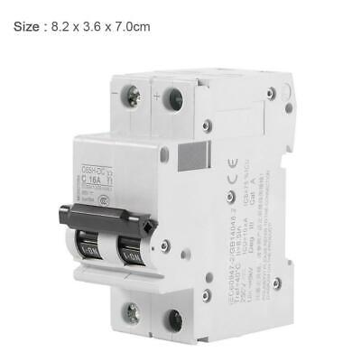 250V DC 2P Low-voltage Miniature Air Circuit Breaker Solar Energy Switch 16A/32A
