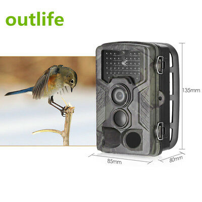 Outlife HC - 800LTE 4G 1080P 16MP 42 LED Infrared Trail Camera Scouting Device