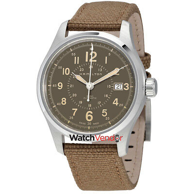 Hamilton Khaki Field Automatic Brown Dial Men's Watch H70305993
