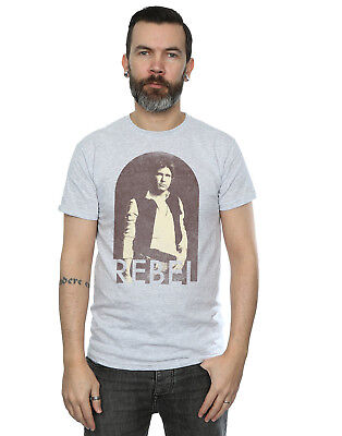 Star Wars Herren Han Solo Rebel T-Shirt