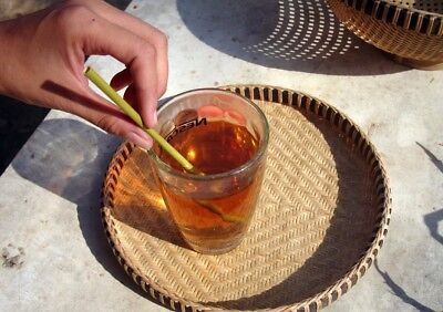 500 Natural Grass Straws from Vietnam for Coffee Shops and Restaurants