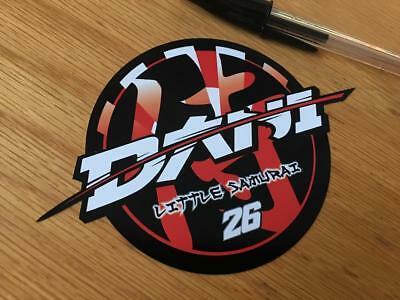 "Dani Pedrosa ""Little Samurai"" Sticker"