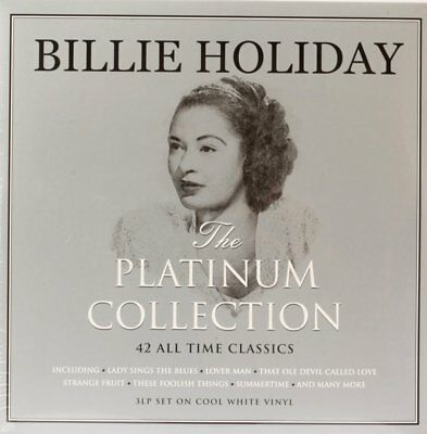 The Platinum Collection  Billie Holiday Vinyl Record