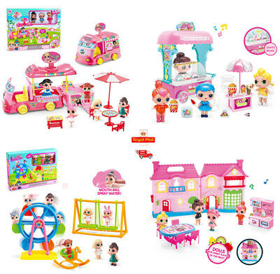 LOL Surprise Doll Picnic Car Playset Baby Figure Topper Kids Girls Toys