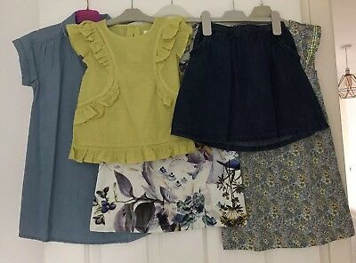 Bnwt Girls Next Bundle Age 5-6 Years Dress Skirt Top Rrp £63